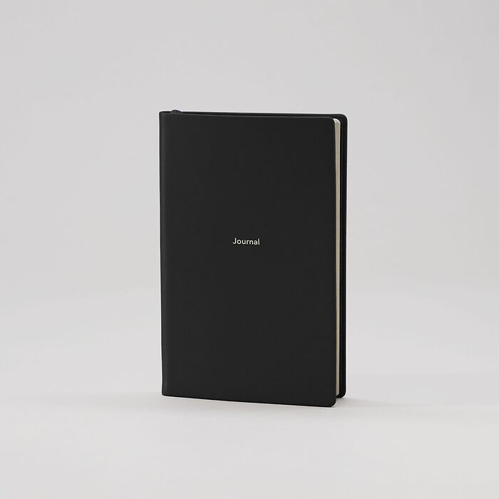 Journal S Notebook plain Nero
