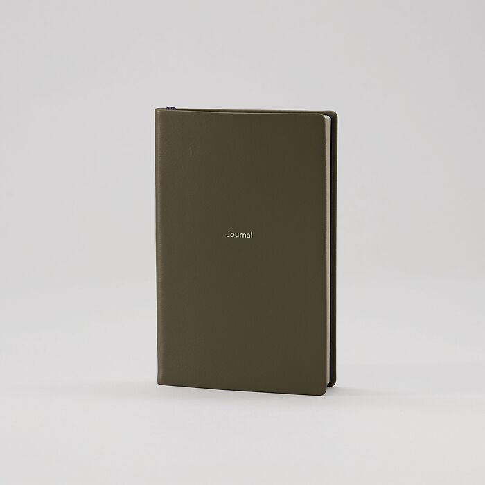 Journal S Notebook plain Ranger Green