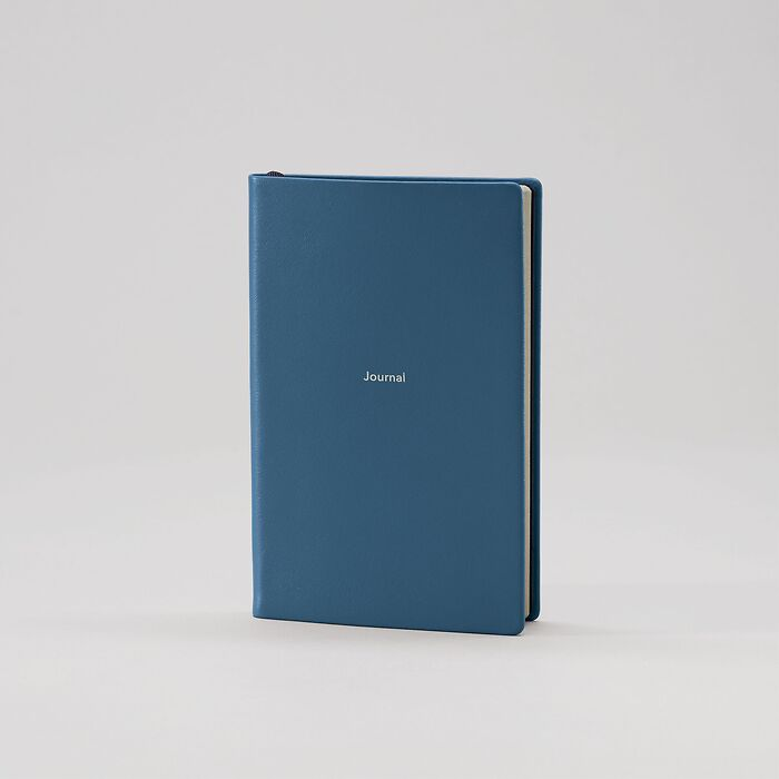 Journal S Notebook plain Prussian Blue