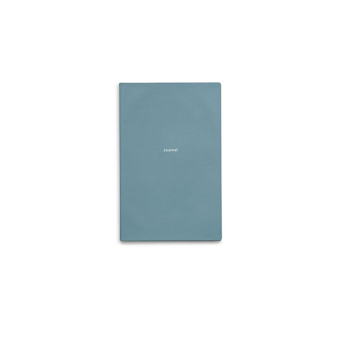 Journal S Notebook plain Pigeon Blue