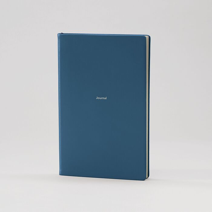 Journal M Notebook ruled Prussian Blue