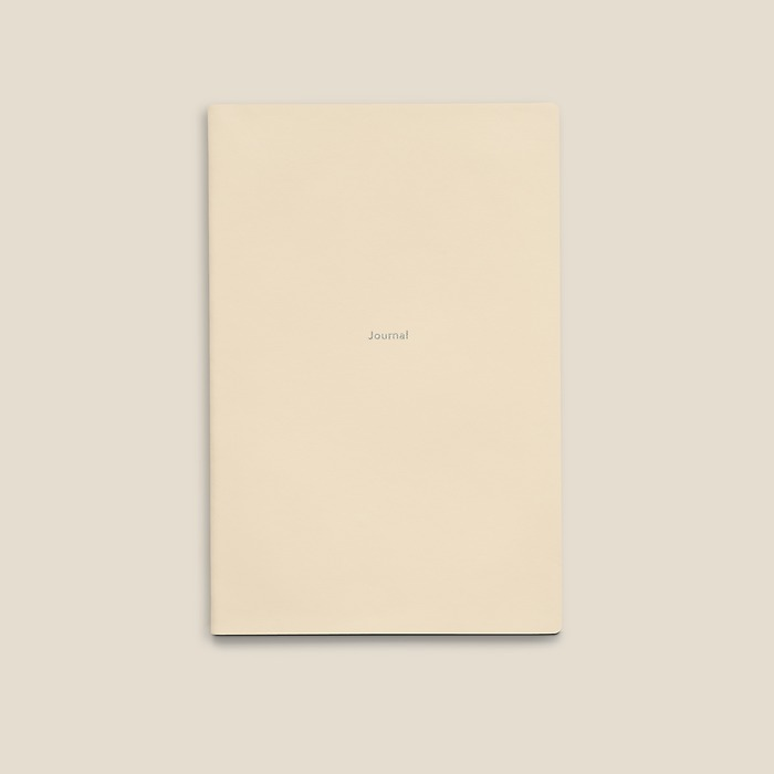 Journal M Notebook ruled White Truffle