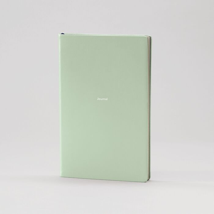 Journal M Notebook plain Cool Mint