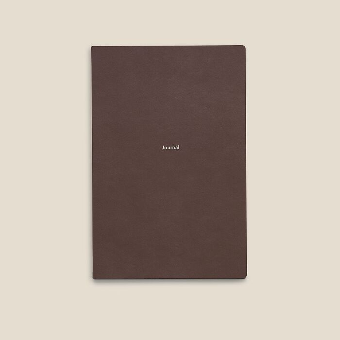 Journal M Notebook plain French Roast