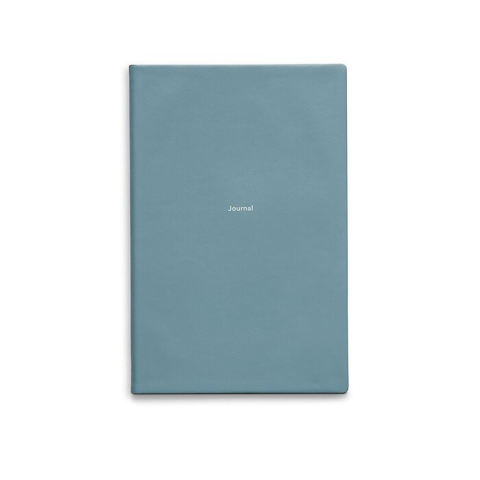 Journal M Notebook plain Pigeon Blue