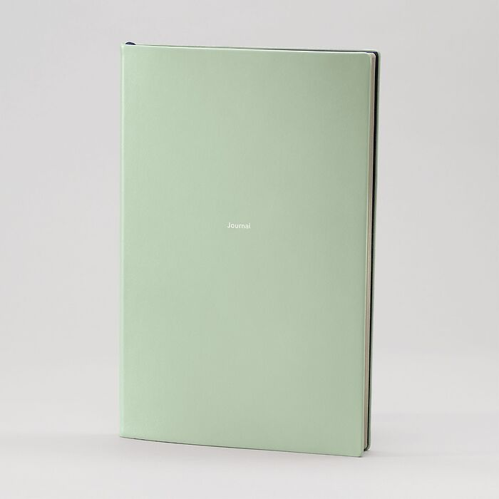 Journal L Notebook plain Cool Mint