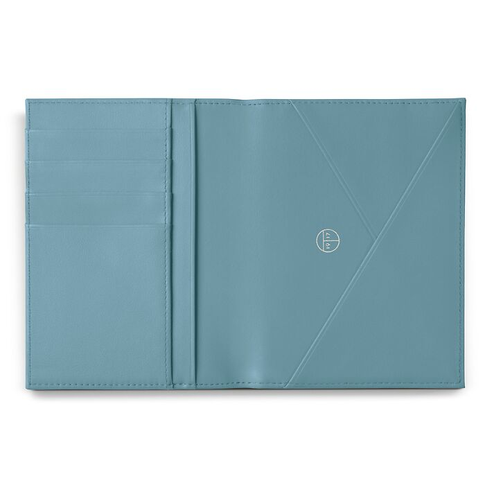 Passport Caddy Pigeon Blue