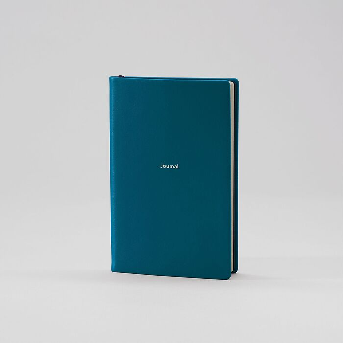 Journal S Notizbuch liniert Petrol Green