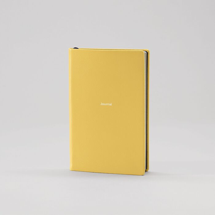 Notebook Journal S plain Mustard