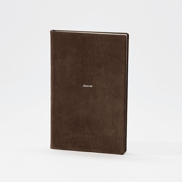 Journal M plain Arabica Nubuck