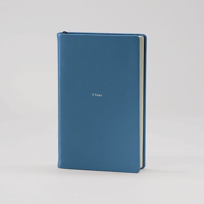 5 Year Book M Prussian Blue