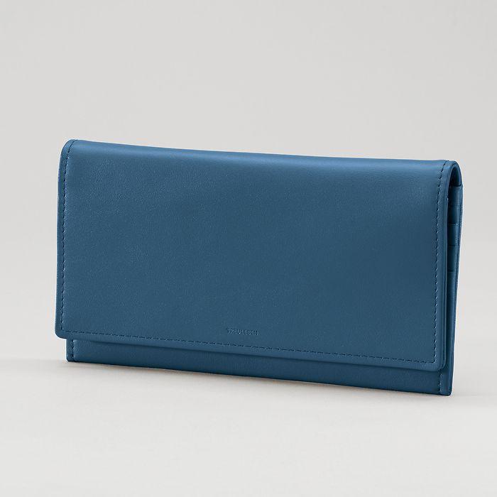 Wallet Wallis Prussian Blue